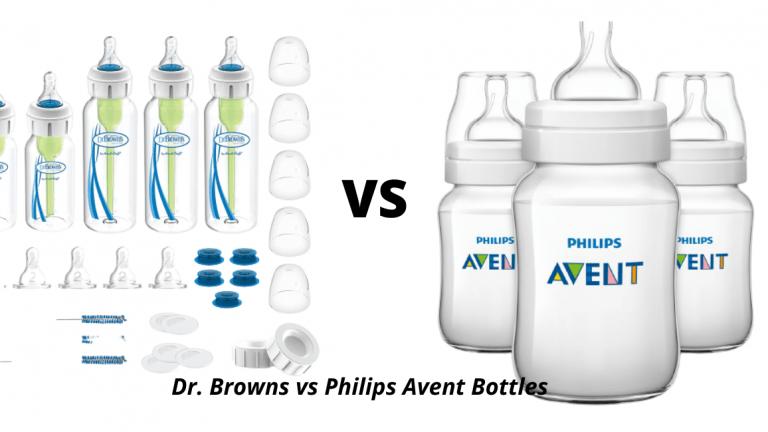 Dr. Browns vs Philips Avent Bottles
