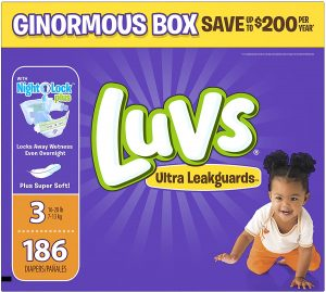 Luvs Ultra Leak guards Disposable Baby Diapers