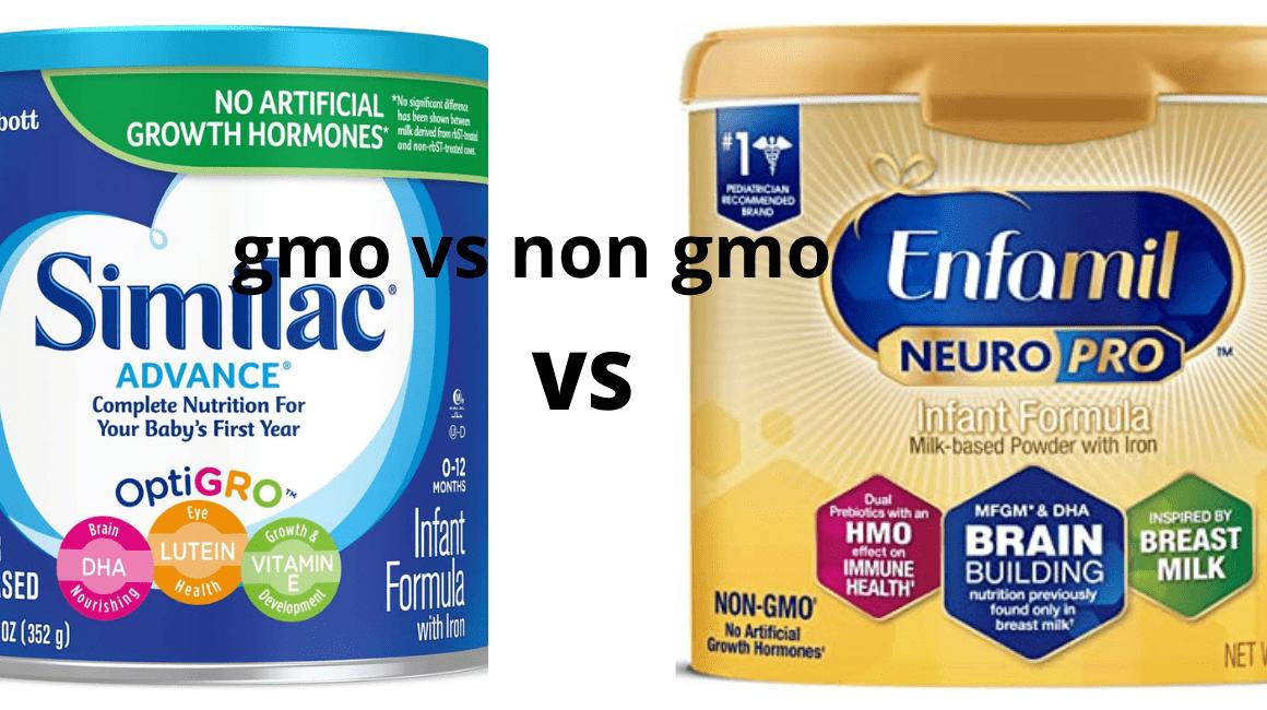 GMO Vs Non GMO Formula (2021): Which is Better