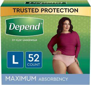 Depend -fIT-fLEX -incontinence