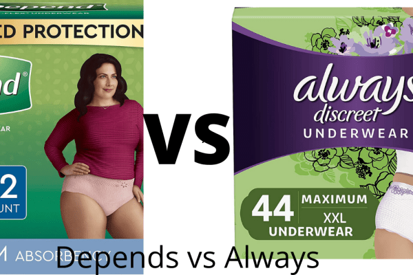 Depends vs Always: Which is Best For For Elderly Women?