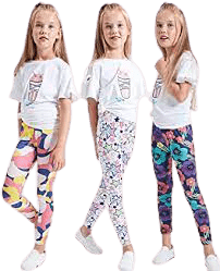 LUOUSE-Girls-Stretchy-Patterned-Leggings_4-13-Years