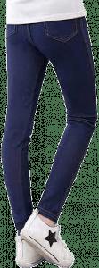 Weixinbuy-Kid-Girl-Classic-Faux-Denim-Fabric