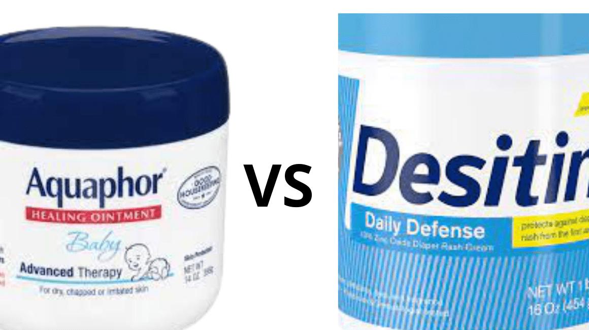Aquaphor vs Desitin Diaper Rash Cream | Which is Best For You