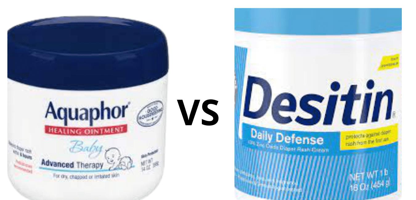 Aquaphor vs Desitin Diaper Rash Cream